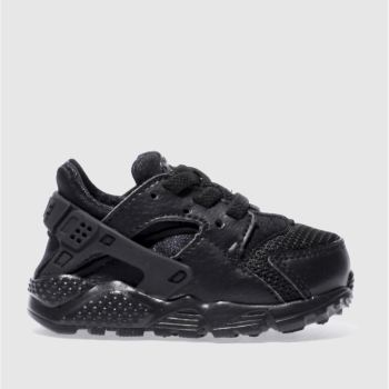 Nike Black Huarache Run Unisex Toddler