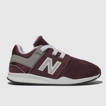 New Balance Burgundy 247 Unisex Toddler