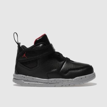 Nike Jordan Black & Red Courtside 23 Unisex Toddler
