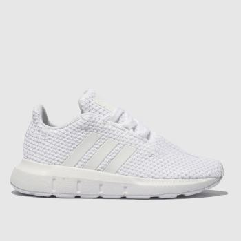 adidas White Swift Run Unisex Toddler