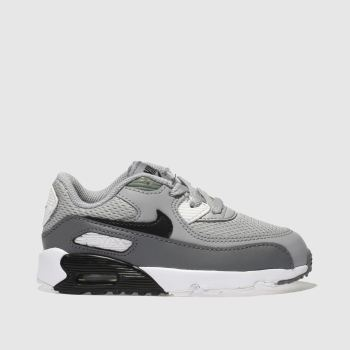 Nike Light Grey Air Max 90 Mesh Unisex Toddler