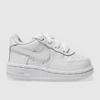 Nike White Air Force 1 Unisex Toddler#