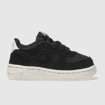 Nike Black & White Air Force 1 Unisex Toddler