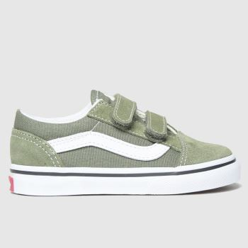 Vans Khaki Old Skool Unisex Toddler#