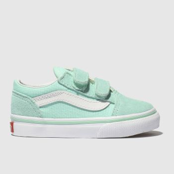 6006bcdab7ddf0 Vans Pale Blue Old Skool Unisex Toddler