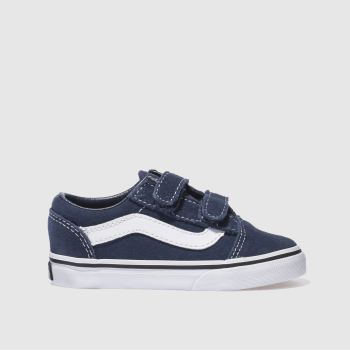 Vans Navy OLD SKOOL Unisex Toddler
