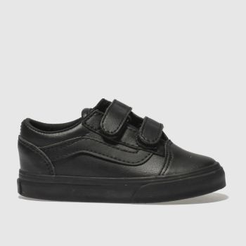 Vans Black Old Skool V Unisex Toddler