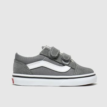 Vans Grey Old Skool V Unisex Toddler
