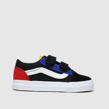 Vans Black & Blue Old Skool V Unisex Toddler