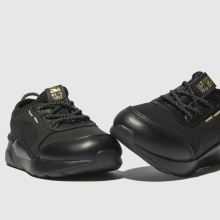 7e4be3d3 puma black & gold rs-0 trophy trainers toddler