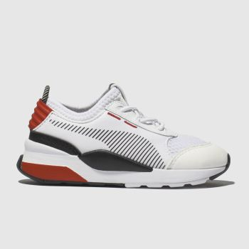 Puma White & Red Rs-0 Winter Inj Toys Unisex Toddler