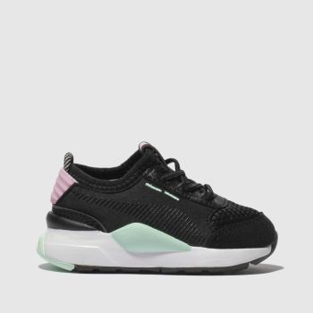 Puma Black & pink Rs-0 Winter Inj Toys Unisex Toddler