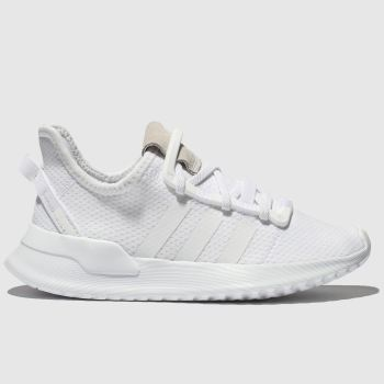 Adidas White ADI U_PATH RUN Unisex Toddler