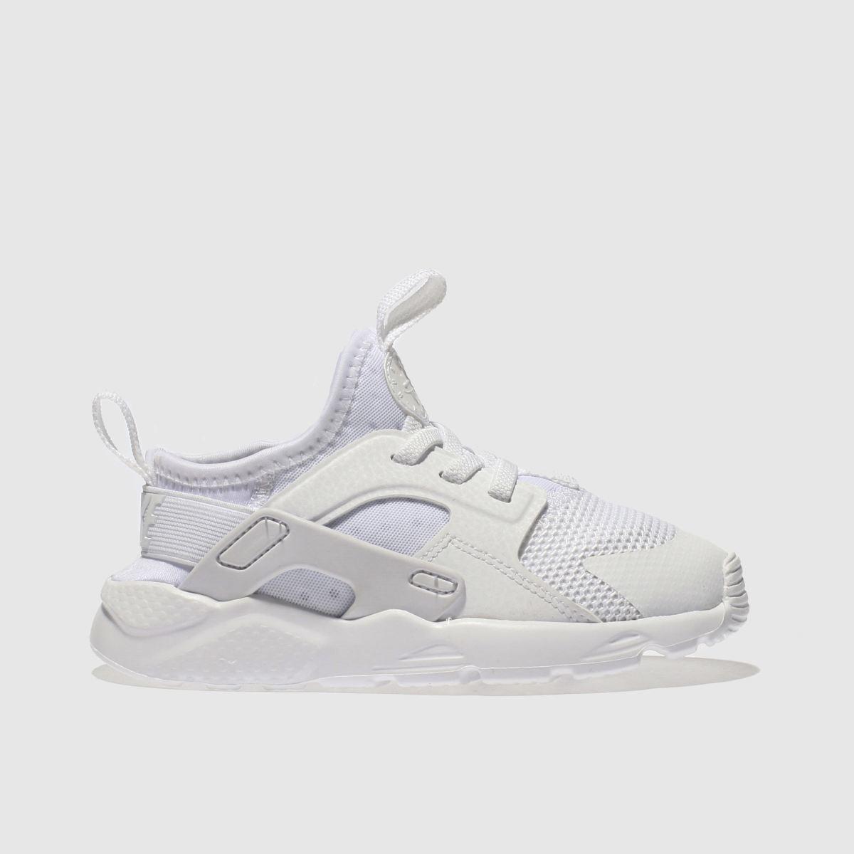 Nike white huarache ultra trainers toddler