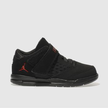 Nike Jordan Black & Red FLIGHT ORIGIN 4 Unisex Toddler
