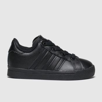 Adidas Black Coast Star Unisex Toddler