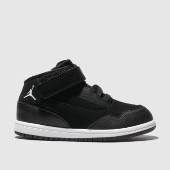 new concept da014 b918d Nike Jordan Black   White Jordan Executive Unisex Toddler
