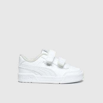 Puma White Caracal Unisex Toddler