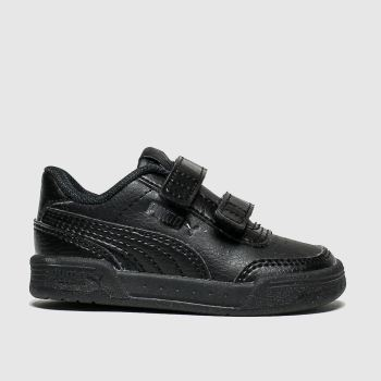 Puma Black Caracal Unisex Toddler