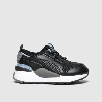 Puma Black & Grey Rs-0 Smart Unisex Toddler