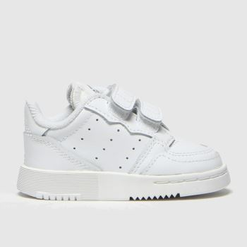 adidas White Supercourt Unisex Toddler