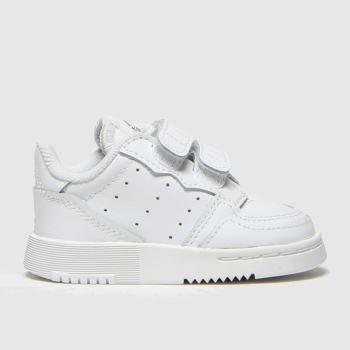Adidas White Supercourt Unisex Toddler#