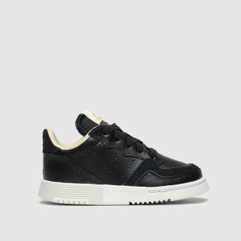 Adidas Black Supercourt Tdlr c2namevalue::Unisex Toddler