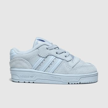 Adidas Pale Blue Rivalry Low Unisex Toddler