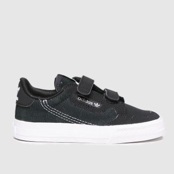adidas Black & White Continental Vulc Cf Unisex Toddler
