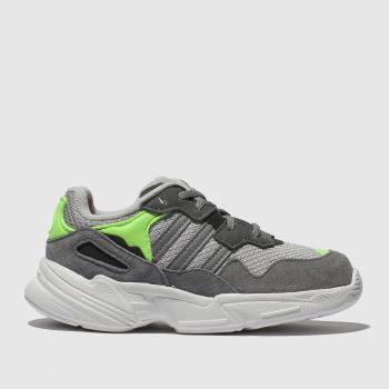 innovative design b35c5 55a55 Adidas Grey Yung 96 Unisex Toddler