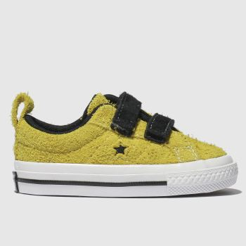 Converse Yellow One Star 2V Unisex Toddler