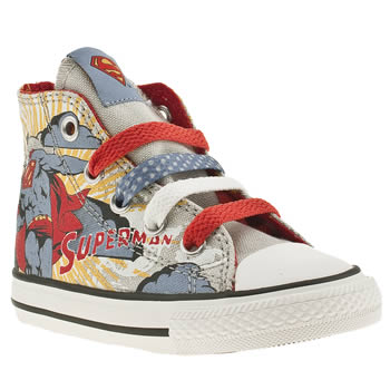 48463c9aedb0 Kids Unisex multi converse all star print superman trainers