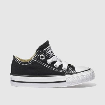 Converse Black ALL STAR LO Unisex Toddler