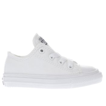 Converse White Chuck Taylor Ii Ox Unisex Toddler