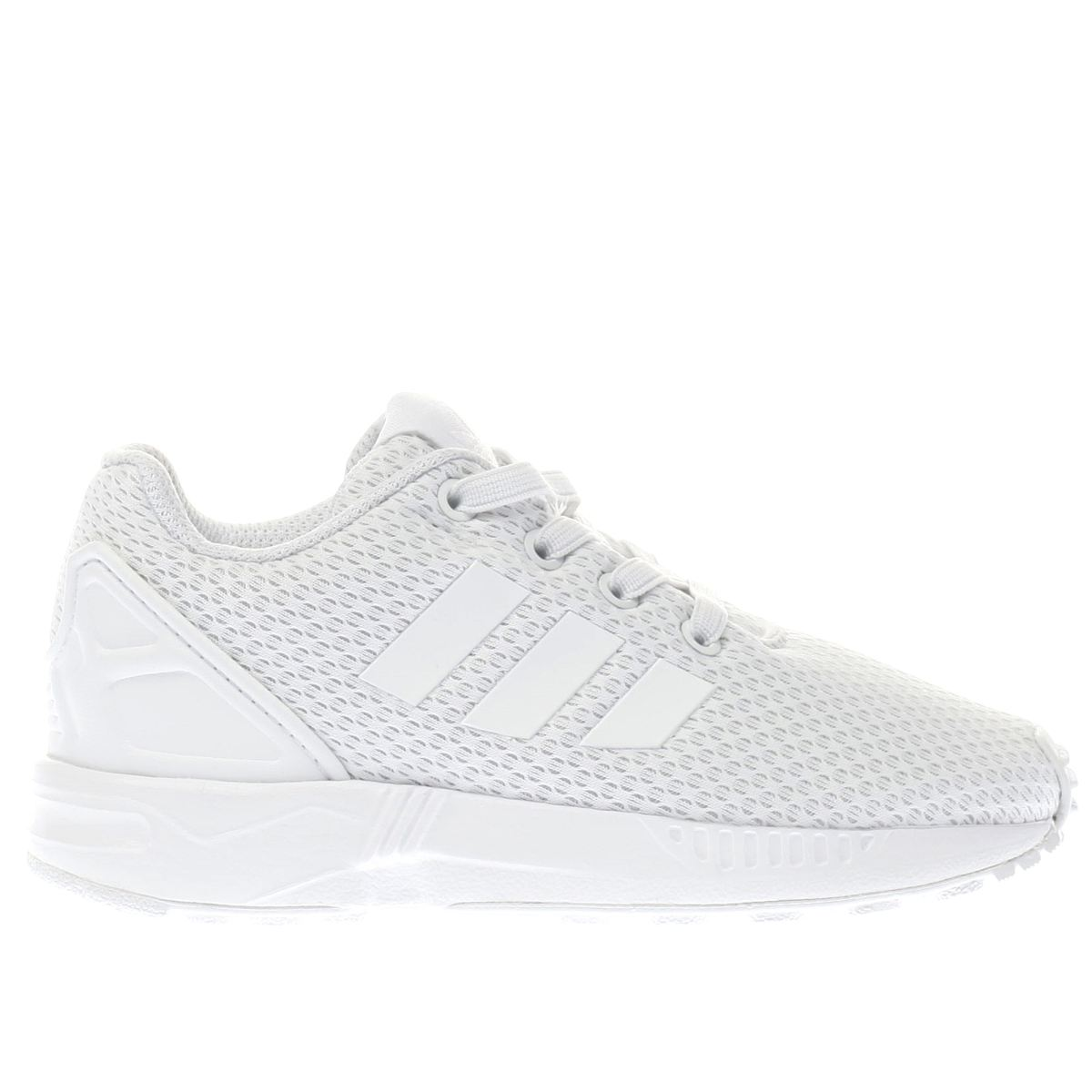 zx flux womens white