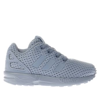 ADIDAS BLUE ZX FLUX TODDLER TRAINERS