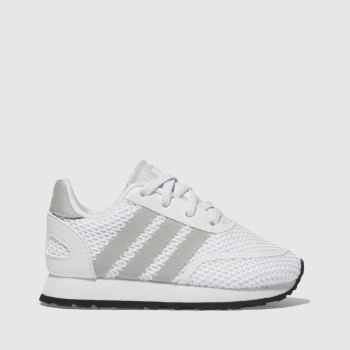 Adidas White & grey N-5923 EL Unisex Toddler