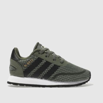 ADIDAS KHAKI N-5923 EL TRAINERS TODDLER