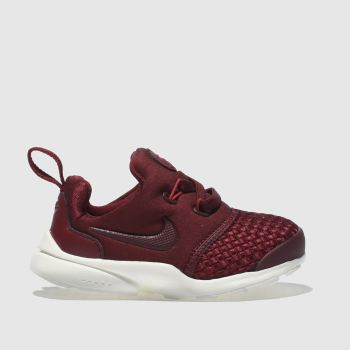 Nike Burgundy Presto Fly Unisex Toddler