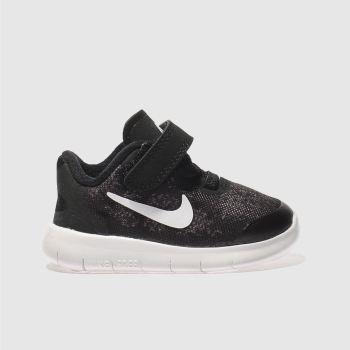 Nike Black Free Run 2 Unisex Toddler