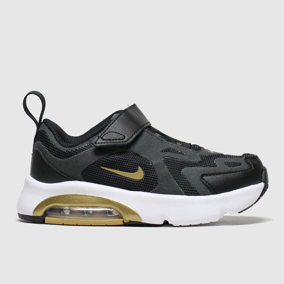 Nike Nike Black & Gold Air Max 200 Trainers Toddler