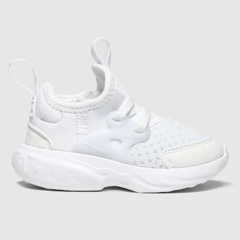 Nike White Presto React Unisex Toddler