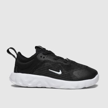 Nike Black & White Renew Lucent Unisex Toddler