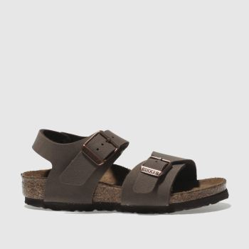 BIRKENSTOCK Brown New York Unisex Toddler#