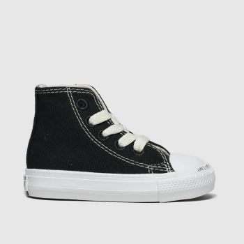 Converse Black & White Chuck Taylor All Star Renew Hi Unisex Toddler