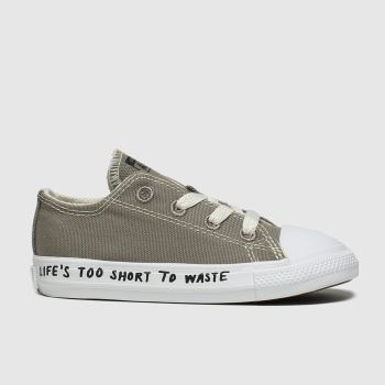 Converse Grey Chuck Taylor All Star Renew Lo Unisex Toddler
