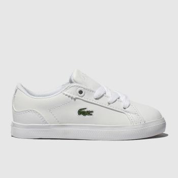 Lacoste White Lerond c2namevalue::Unisex Toddler