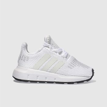 5c056d468a307 Kids Unisex white adidas swift run trainers