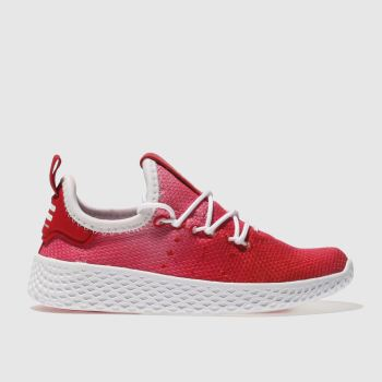 Adidas Red Tennis Pharrell Hu Holi Unisex Toddler