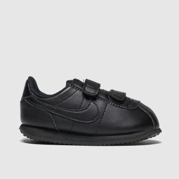 Nike Black Cortez Basic Unisex Toddler